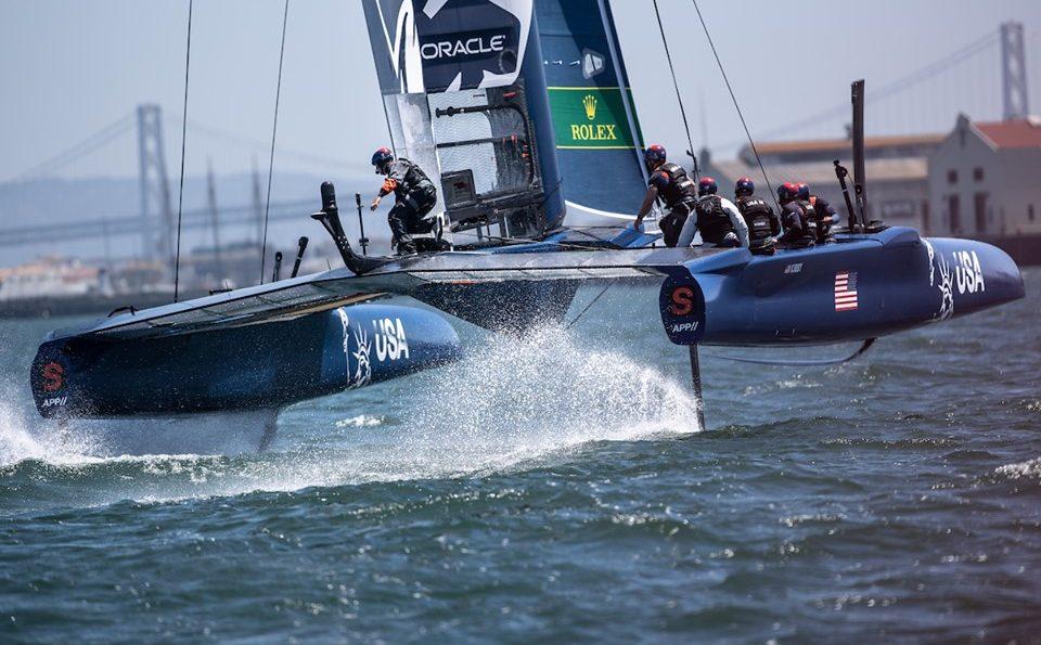 D. 21.-22. juni skal SailGP dyste i den trejde event. Denne gang i New York