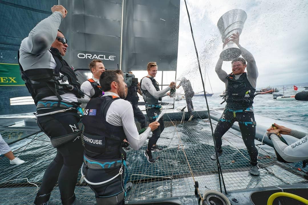 Tillykke til Australia SailGP Team